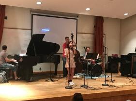 Jazz rehearsal